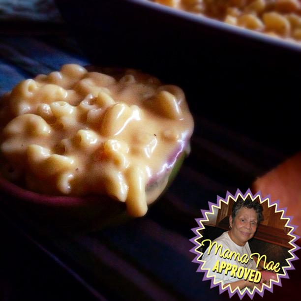 mama nae approved mac and cheese