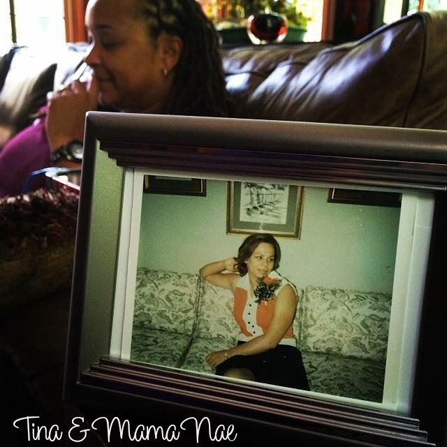Tina and Mama Nae