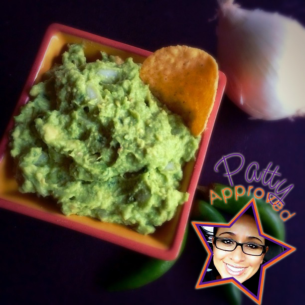 Guacamole with a chip